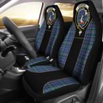 Cooper Tartan Car Seat Cover Clan Badge - Special Version K7