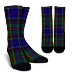 Scottish Adam Clan Tartan Socks - BN