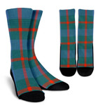 Scottish Agnew Ancient Clan Tartan Socks - BN
