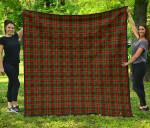 Scottish Ainslie Clan Tartan Quilt Original - TH8