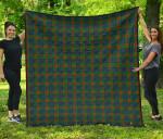 Scottish Aiton Clan Tartan Quilt Original - TH8