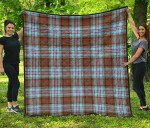 Scottish Anderson Ancient Clan Tartan Quilt Original - TH8