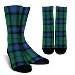 Scottish Armstrong Ancient Clan Tartan Socks - BN