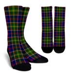 Scottish Ayrshire District Clan Tartan Socks - BN