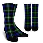 Scottish Baillie Modern Clan Tartan Socks - BN