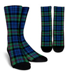 Scottish Baird Ancient Clan Tartan Socks - BN