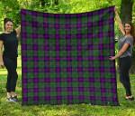 Scottish Armstrong Modern Clan Tartan Quilt Original - TH8