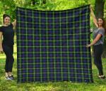 Scottish Baillie Modern Clan Tartan Quilt Original - TH8