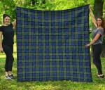 Scottish Baird Ancient Clan Tartan Quilt Original - TH8