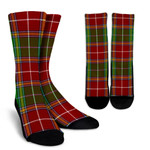 Scottish Baxter Modern Clan Tartan Socks - BN