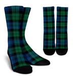 Scottish Blackwatch Ancient Clan Tartan Socks - BN