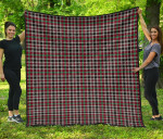 Scottish Borthwick Ancient Clan Tartan Quilt Original - TH8