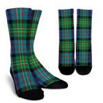 Scottish Bowie Ancient Clan Tartan Socks - BN