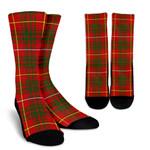 Scottish Bruce Modern Clan Tartan Socks - BN