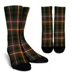 Scottish Buchanan Hunting Clan Tartan Socks - BN