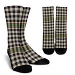 Scottish Burns Check Clan Tartan Socks - BN