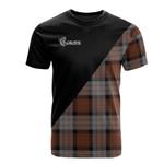 Scottish Cameron of Erracht Weathered Clan Badge T-Shirt Military - K23