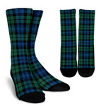 Scottish Campbell Ancient Clan Tartan Socks 02 - BN