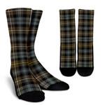 Scottish Campbell Argyll Weathered Clan Tartan Socks - BN