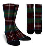 Scottish Chisholm Hunting Ancient Clan Tartan Socks - BN