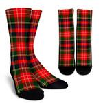 Scottish Christie Clan Tartan Socks - BN