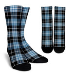 Scottish Clark Ancient Clan Tartan Socks - BN