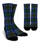 Scottish Cockburn Ancient Clan Tartan Socks - BN