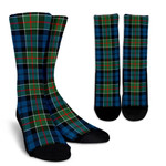 Scottish Colquhoun Ancient Clan Tartan Socks - BN