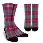 Scottish Crawford Ancient Clan Tartan Socks - BN