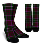 Scottish Crosbie Clan Tartan Socks - BN