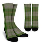 Scottish Cunningham Dress Green Dancers Clan Tartan Socks - BN