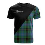 Scottish Davidson Ancient Clan Badge T-Shirt Military - K23