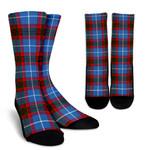 Scottish Edinburgh District Clan Tartan Socks - BN