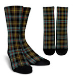 Scottish Farquharson Weathered Clan Tartan Socks - BN