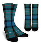 Scottish Ferguson Ancient Clan Tartan Socks - BN