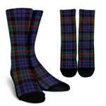 Scottish Fletcher of Dunans Clan Tartan Socks - BN