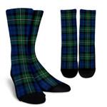 Scottish Forbes Ancient Clan Tartan Socks - BN