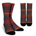 Scottish Fraser Hunting Modern Clan Tartan Socks - BN