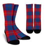 Scottish Galloway Red Clan Tartan Socks - BN