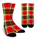 Scottish Gibbs Clan Tartan Socks - BN