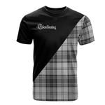 Scottish Glendinning Clan Badge T-Shirt Military - K23