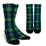 Scottish Gordon Ancient Clan Tartan Socks - BN