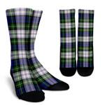 Scottish Gordon Dress Modern Clan Tartan Socks - BN