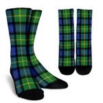 Scottish Gordon Old Ancient Clan Tartan Socks - BN