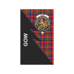 Scottish Gow (or McGouan) Clan Badge Tartan Garden Flag Flash Style - BN