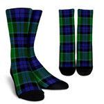 Scottish Graham of Menteith Modern Clan Tartan Socks - BN