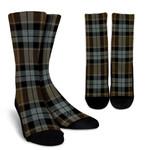 Scottish Graham of Menteith Weathered Clan Tartan Socks - BN