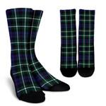 Scottish Graham of Montrose Modern Clan Tartan Socks - BN