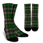 Scottish Gray Hunting Clan Tartan Socks - BN