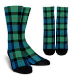 Scottish Gunn Ancient Clan Tartan Socks - BN